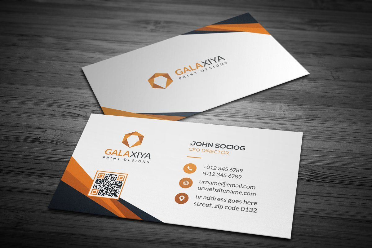Modern Corporate Business Cards Business Cards Creative Corporate Business Card Create Business Cards