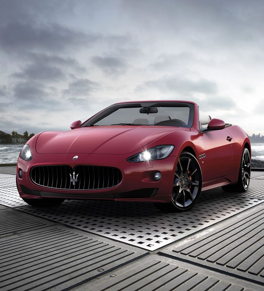 Maserati Granturismo Cabrio #newferrari