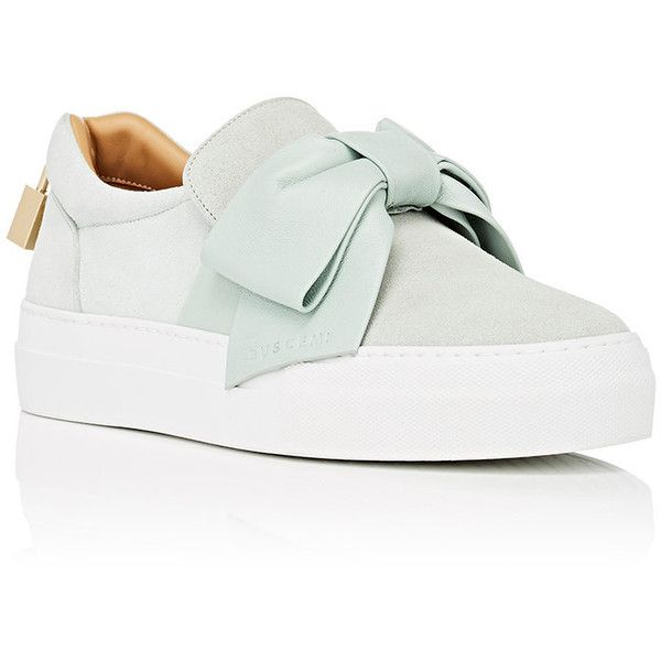 suede toe trainers - White Buscemi YwNGivF1