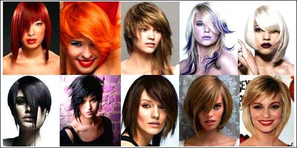 Asymmetrische Pony-Haarschnitte | Haarschnitt mit pony ...