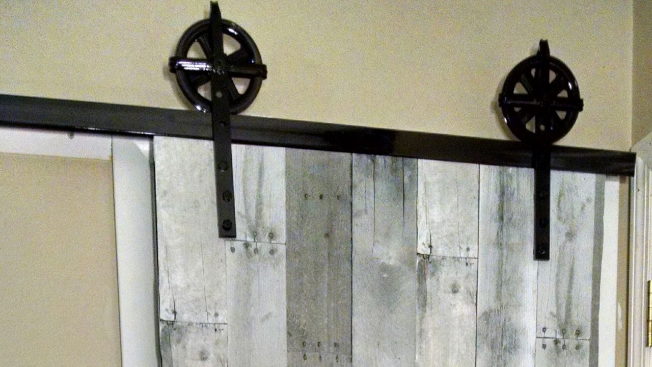 Barn Door Hardware That Doesn T Cost Hundreds Of Dollars How