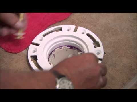 6 of the top toilet flange and floor repairs and replacement ...