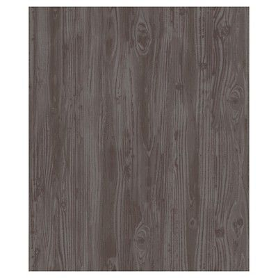 Devine Color Textured Driftwood Peel & Stick Wallpaper