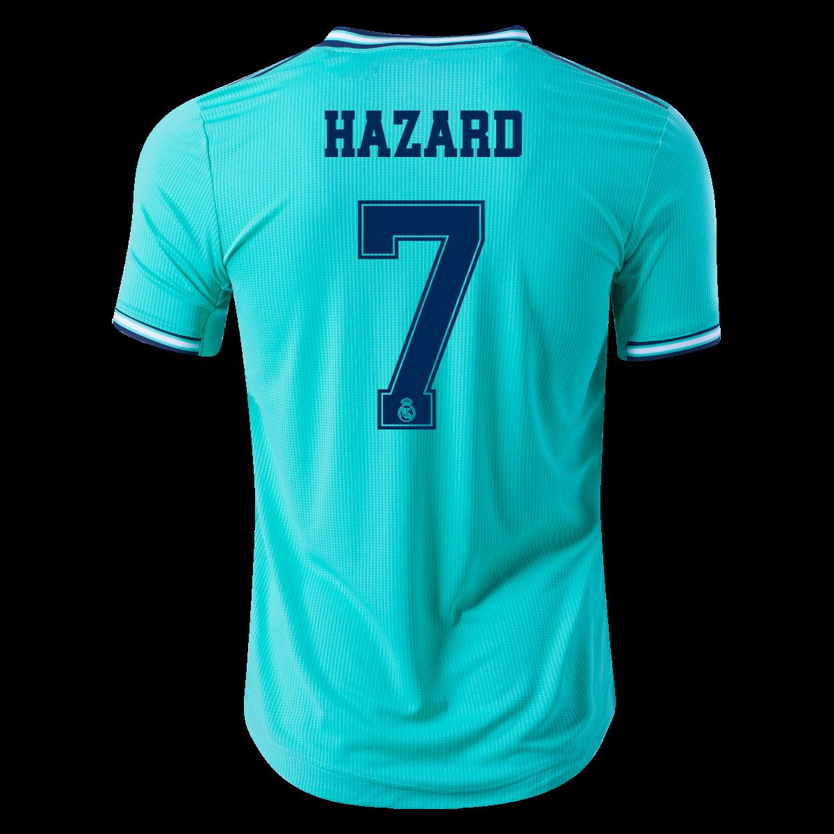 Adidas Eden Hazard Real Madrid Authentic Third Jersey 19 20 L Hazard Real Madrid Real Madrid Jersey