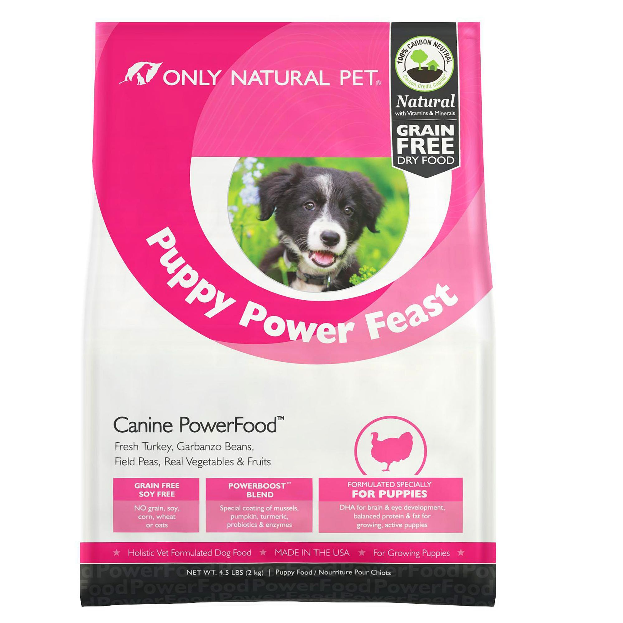 Only Natural Pet Canine Powerfood Puppy Food Limited Ingredient