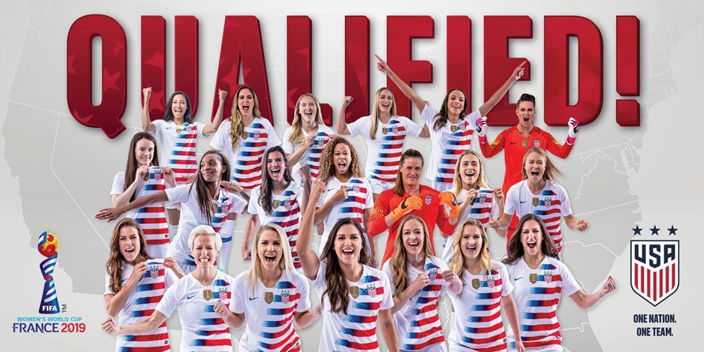 2019 U S Women S Soccer Team World Cup Champions With Images Fifa Women S World Cup Uswnt Soccer World