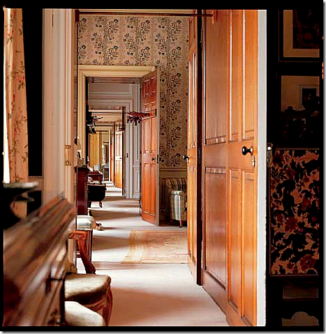 Blenheim Palace A Long Enfilade On The Upstairs Private Bedroom Wing