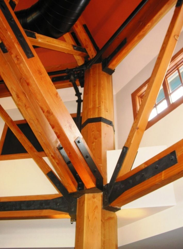 Steel Connections For Timber Framing Timber Framing