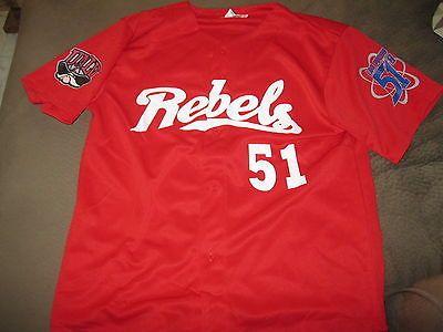 timeless design 27e45 3c398 Rare, Las Vegas 51's Baseball UNLV-Rebels Red Jersey XL ...