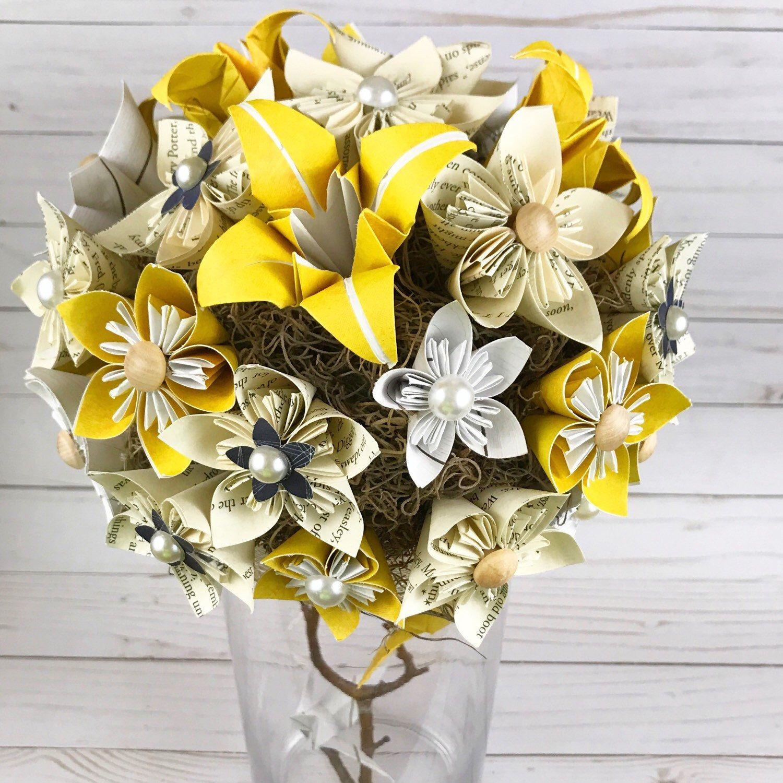 10 Origami Crane Flower, Origami Crane, Wedding Decoration Crane ...   1500x1500