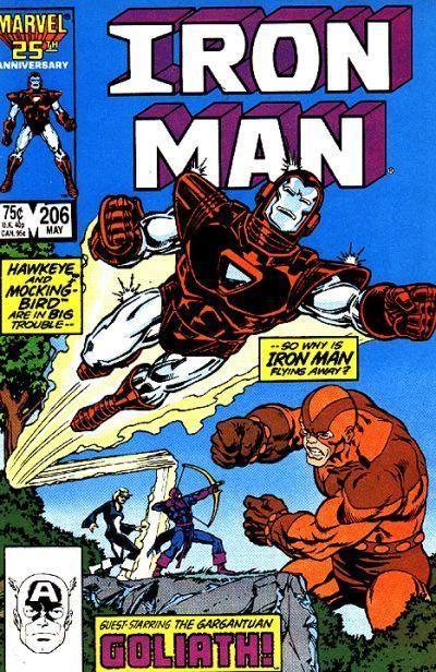 Iron Man McDuffie Trimpe Milgrom Volume 1 #252 Marvel Comics January 1990 NM