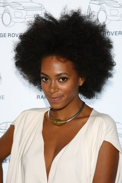 solange knowles natural hair | Solange Knowles Natural Hairstyles ...