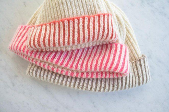 Color Dipped Hat Purl Soho Create Knitting