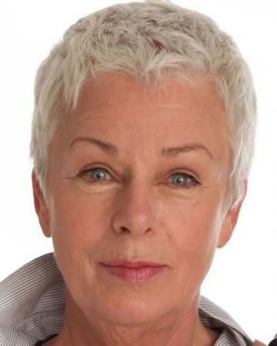 Very short pixie style over 60