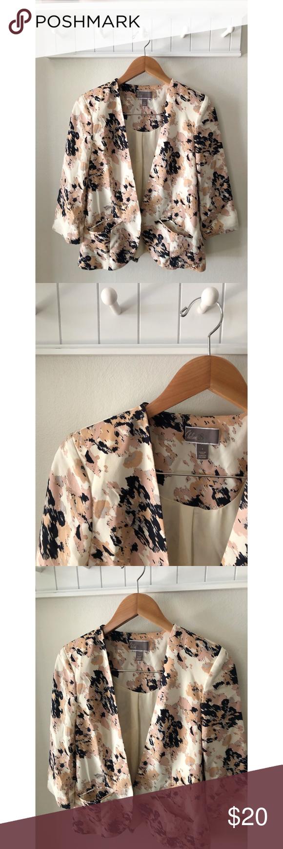 Chelsea28 Floral Blazer Beautiful color palette Nordstrom blazer EUC. Chelsea28 Jackets & Coats Blazers #myposhpicks