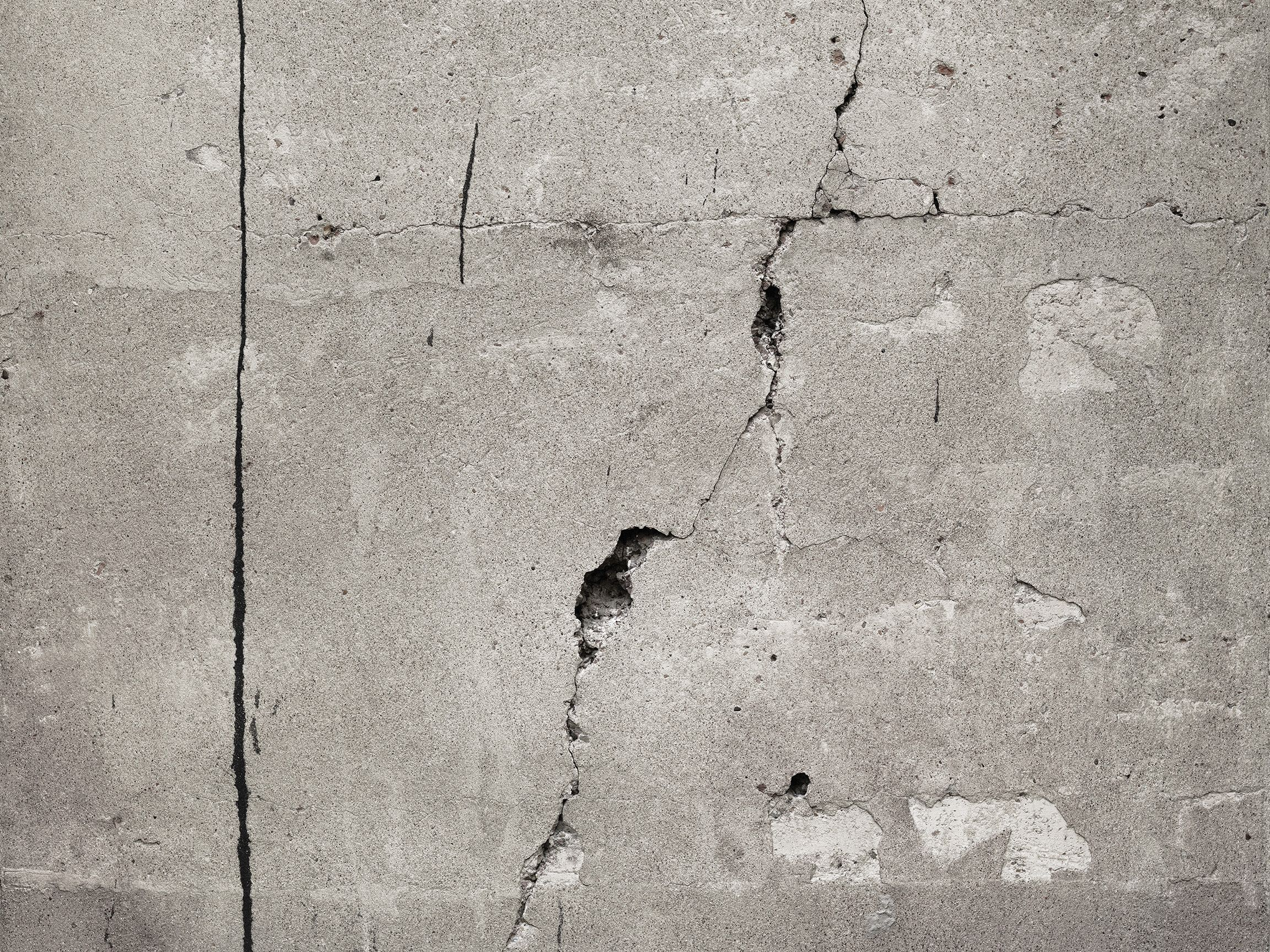 Murals Of Cracked Concrete By Textures 3000mm X 2400mm Shop Surface View Mural Concrete Wall Wall Murals