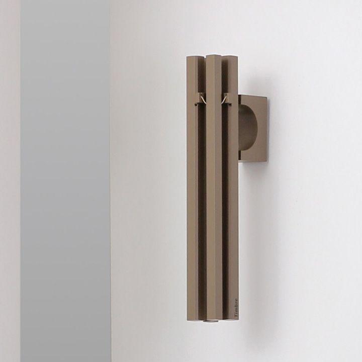 楽天市場 澄んだ音色のシンプルなドア 引戸兼用ドアベル Timbre