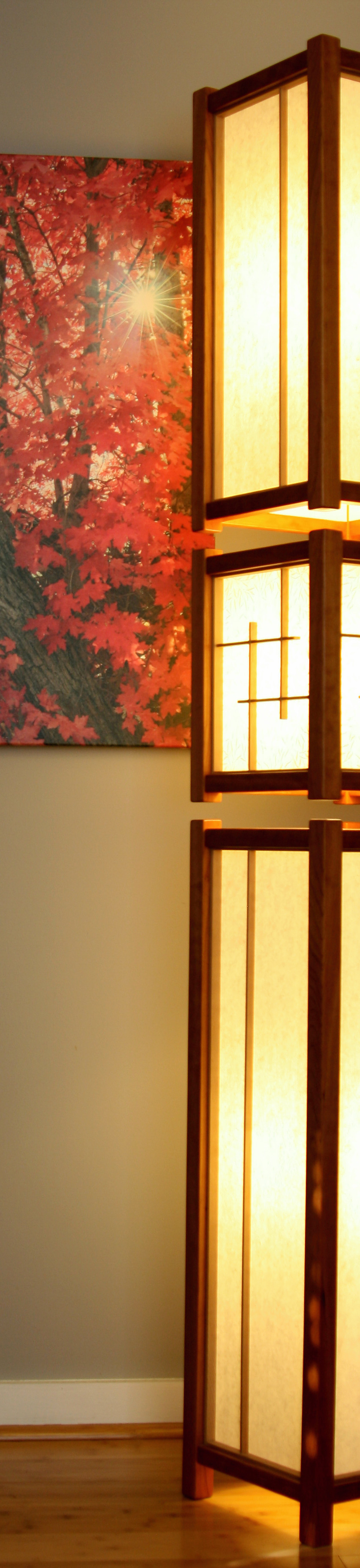 Oriental Furniture Mosko Floor Lamp