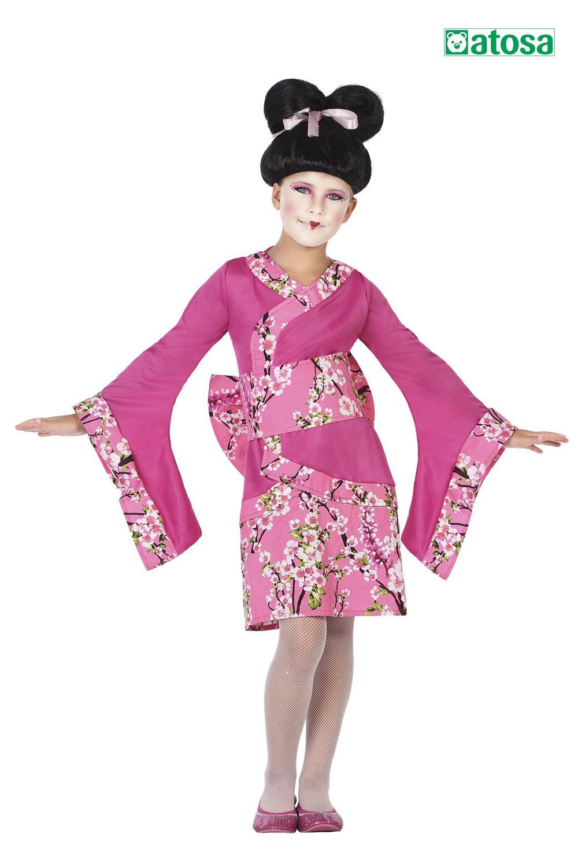 Disfraz Niña Geisha Disfraces Para Niños Disfraces De Niños Disfraces Carnaval