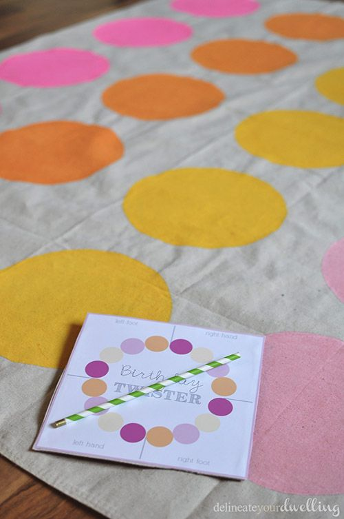 How To Make A Homemade Diy Twister Mat Board And Game Sewing