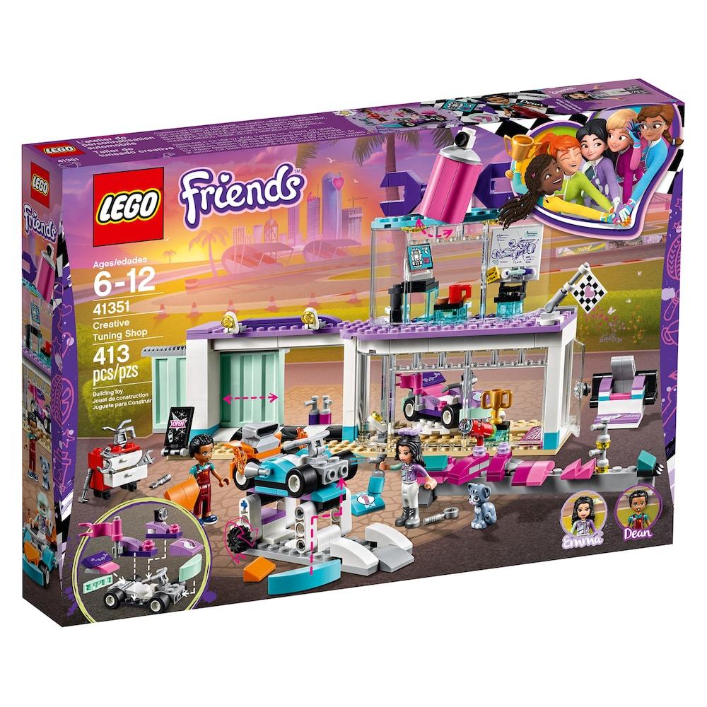 Lego Friends Creative Tuning Shop Set 41351 Lego Lego Friends