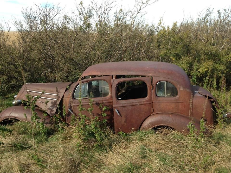 old car in a field | Abandoned cars | Pinterest | Fields, Cars and ...