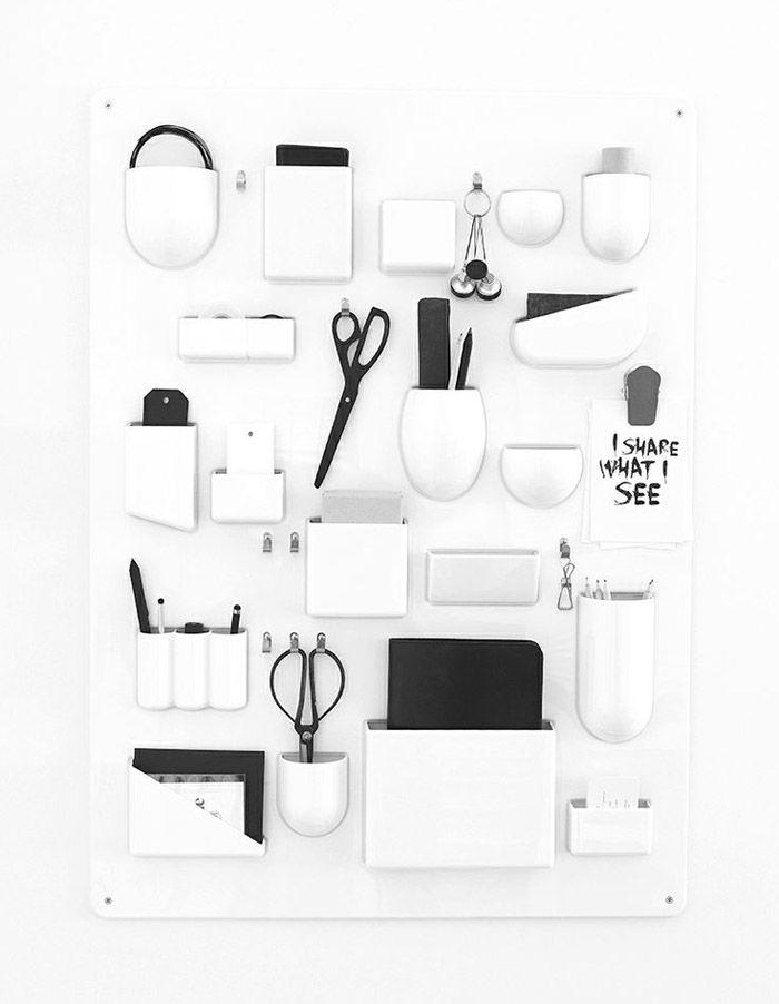 my daily inspiration utensilo schreibtische und diy ideen. Black Bedroom Furniture Sets. Home Design Ideas