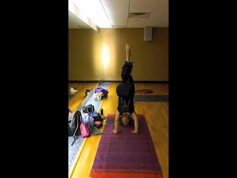 tripod headstand with eagle legssinda  headstand