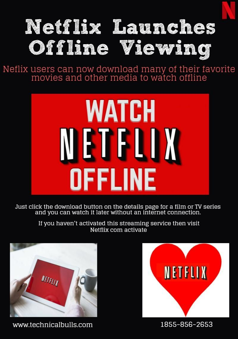 Neflix users can now download many of their favorite movies