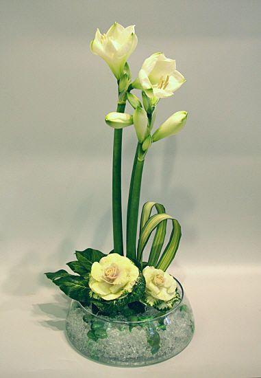 Flower Arrangements Cambiar A Rosas Detalles Boda Pinterest - Centros-florales-modernos