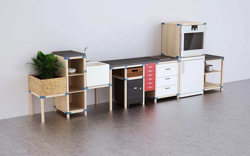 IKEA HACKA: Sistema para Muebles de Cocina Modulares | Design ...