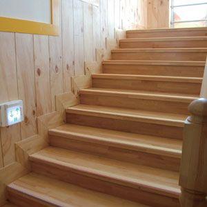 階段滑り止めバー蓄光タイプ 5本セット 住宅改修 バリアフリーの工事