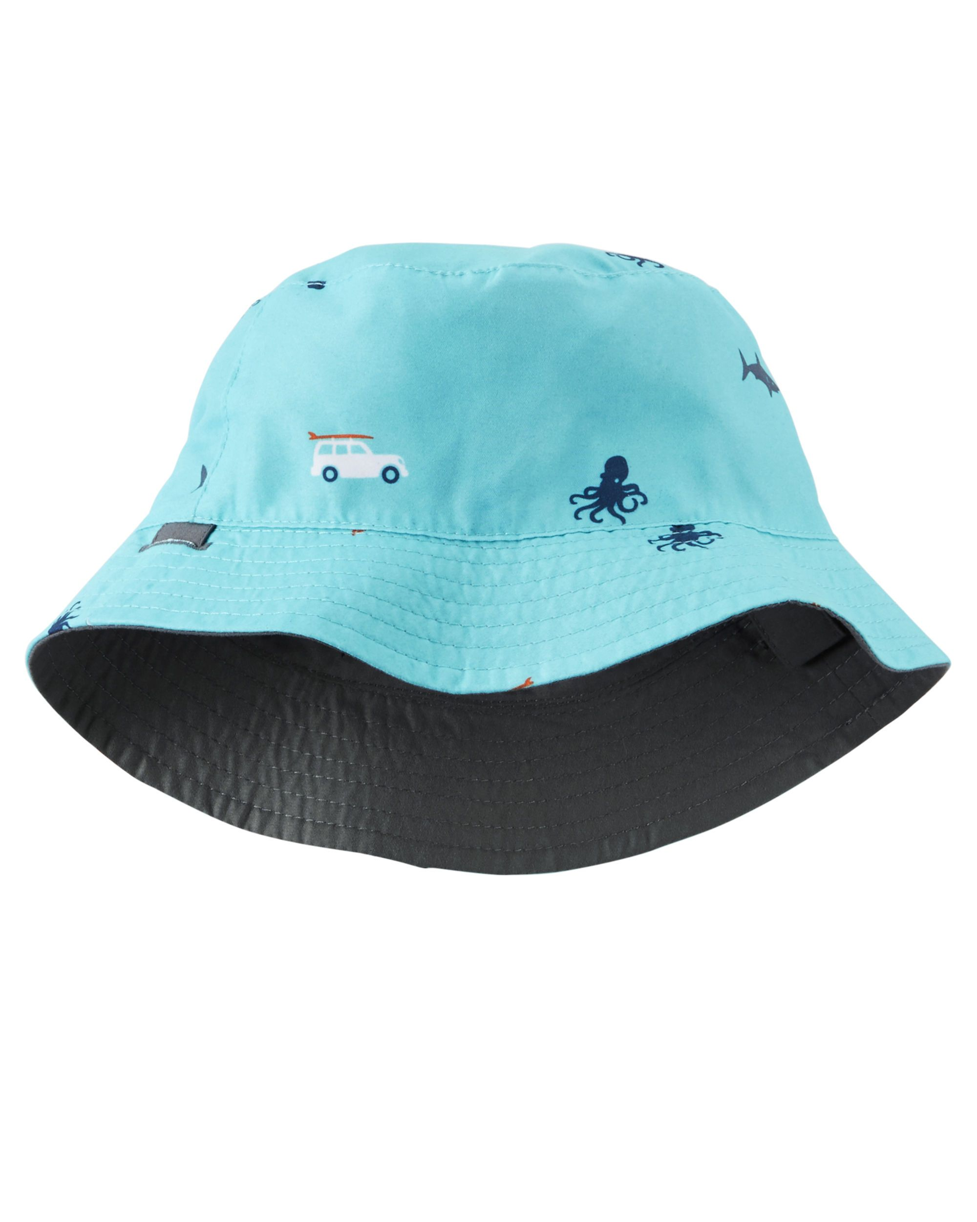 d9e71f0bc11 Baby Boy Reversible Bucket Hat