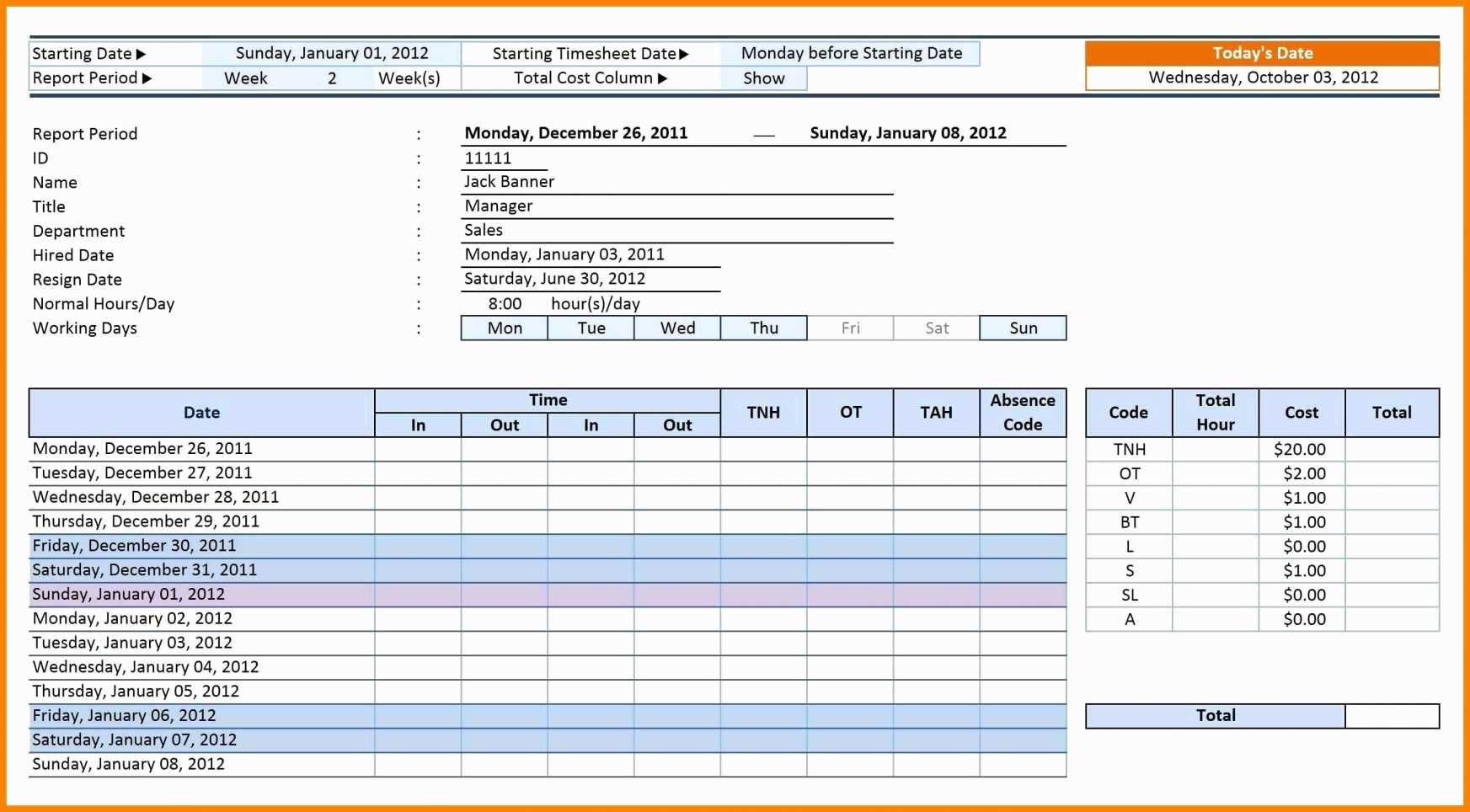 Vacation And Sick Time Tracking Excel Template If You Manage A Group Employee Or Busy Househo Spreadsheet Template Excel Templates Spreadsheet