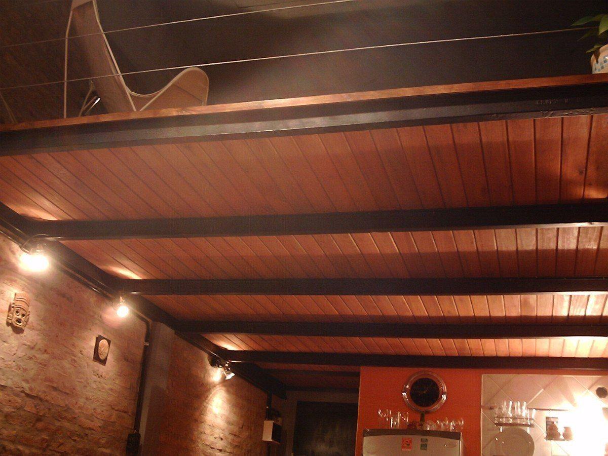 Entrepiso en hierro madera o combinados con escalera for Construccion de escaleras de hierro