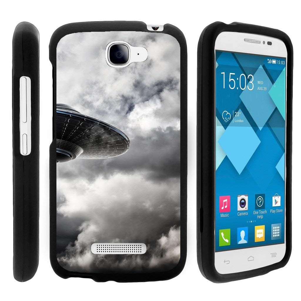 quality design e2198 73ad7 Amazon.com: TurtleArmor | Alcatel One Touch Fierce 2 Case | POP Icon ...