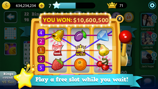 Big wins await you in this new, free, fun, and fresh classic-style Bingo by Best Casino! Play the game you know and love in real time, live games with friends from all over the world. Enjoy thousands of free coins, multi-card play, and huge prizes daily. https://play.google.com/store/apps/details?id=com.diwip.bingo #Bingo #Android #Games
