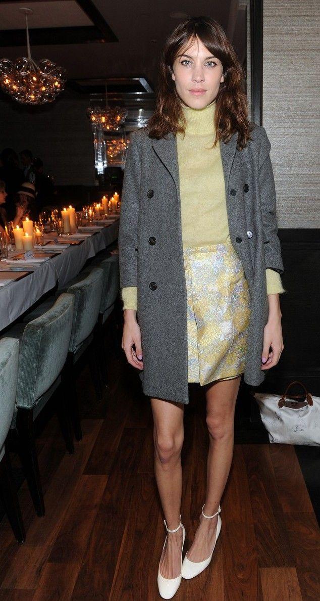 Alexa Chung na Semana de Moda de Nova York (09/02/14)