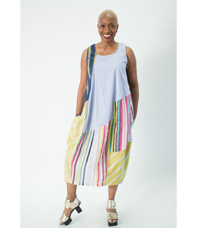 ebf9835b78f5ca Marbled Knit Tank Dress in 2019   Alembika SS 2019   Dresses, Tank dress,  Knit jacket