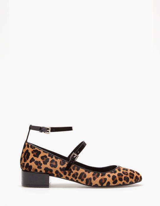 Stradivarius Balerinki W Lamparcie Cetki Stradivarius Nice Shoes Shoes
