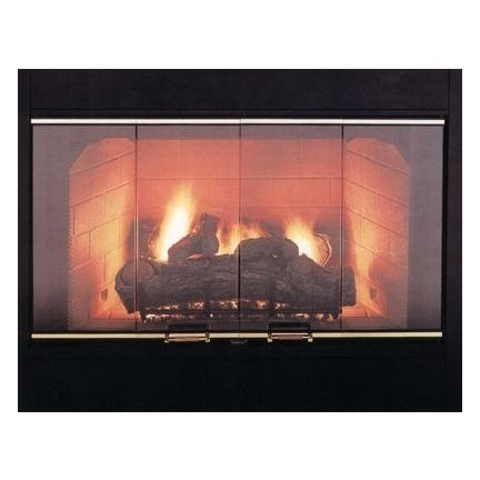 Marco 36 Inch Bi Fold Fireplace Door Fireplace Doors Fireplace