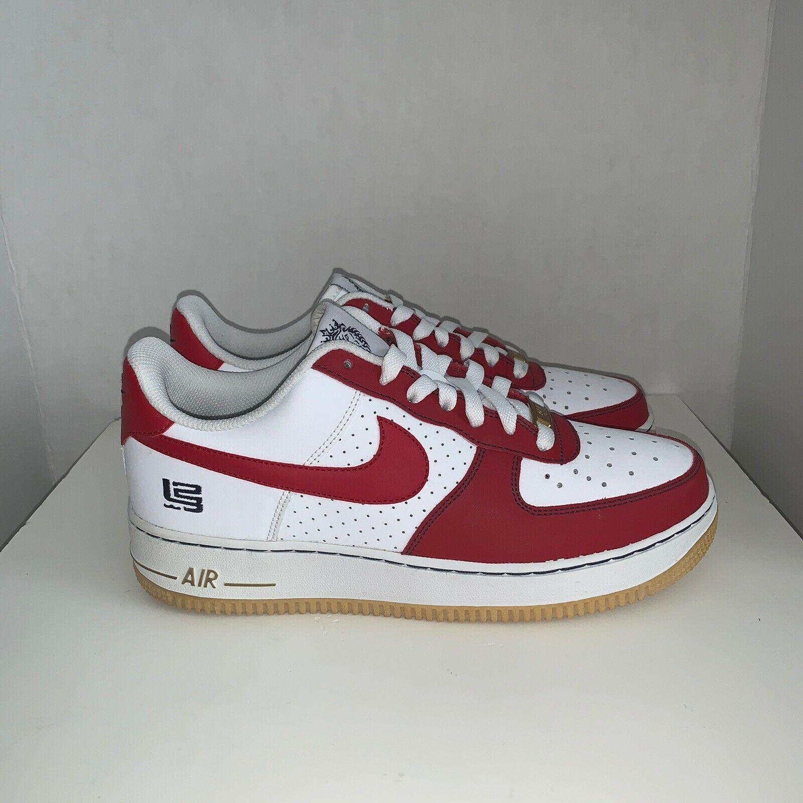 Nike AIR FORCE 1 (GS) 314192-166 LEBRON