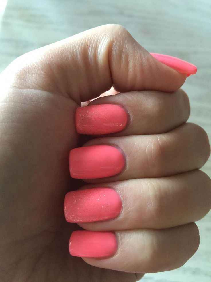 Photo of #overlay #summer #accent #nails #peach #nail # –