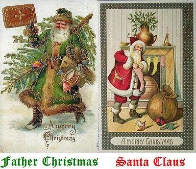 pagan santa | Father Christmas = Pagan Holly King. Santa Claus ...