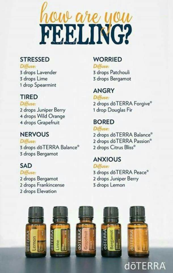 diffuser blends for different moods diffuser blends pinterest therische le doterra. Black Bedroom Furniture Sets. Home Design Ideas