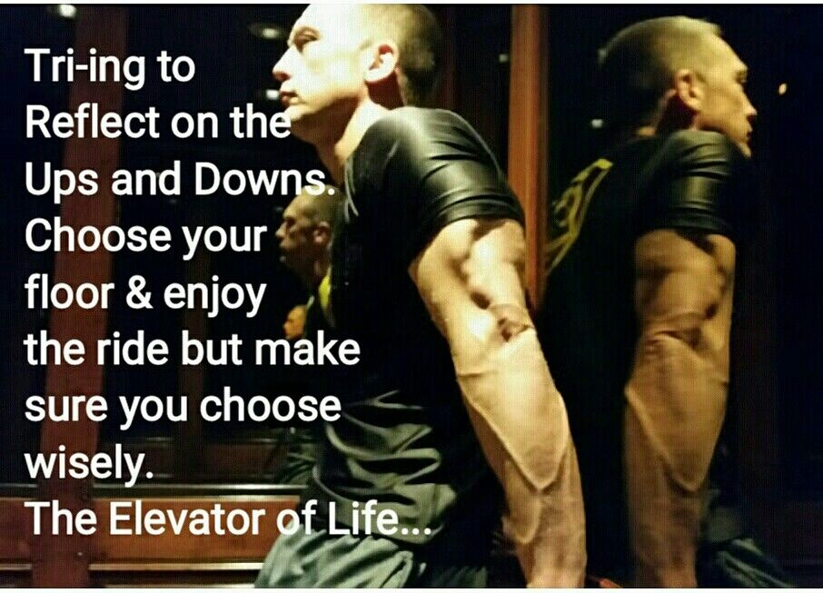 Choose your floor & enjoy  the ride but make sure you choose wisely. The Elevator of Life... twmatn.com