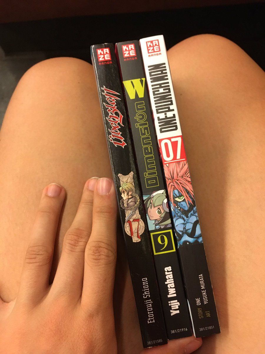 Manga Übel Blatt 17, Dimension W 9, One Punch Man 7 (Kazé)