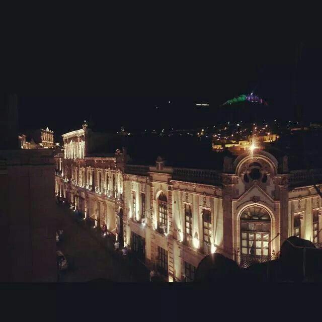 Una noche en Zacatecas.