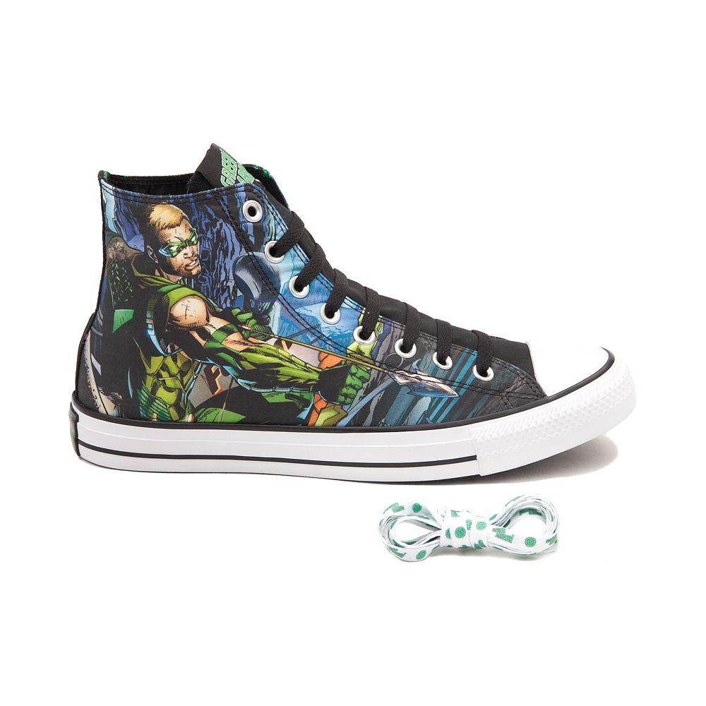 Converse Chuck Taylor All Star Hi Green Arrow Sneaker