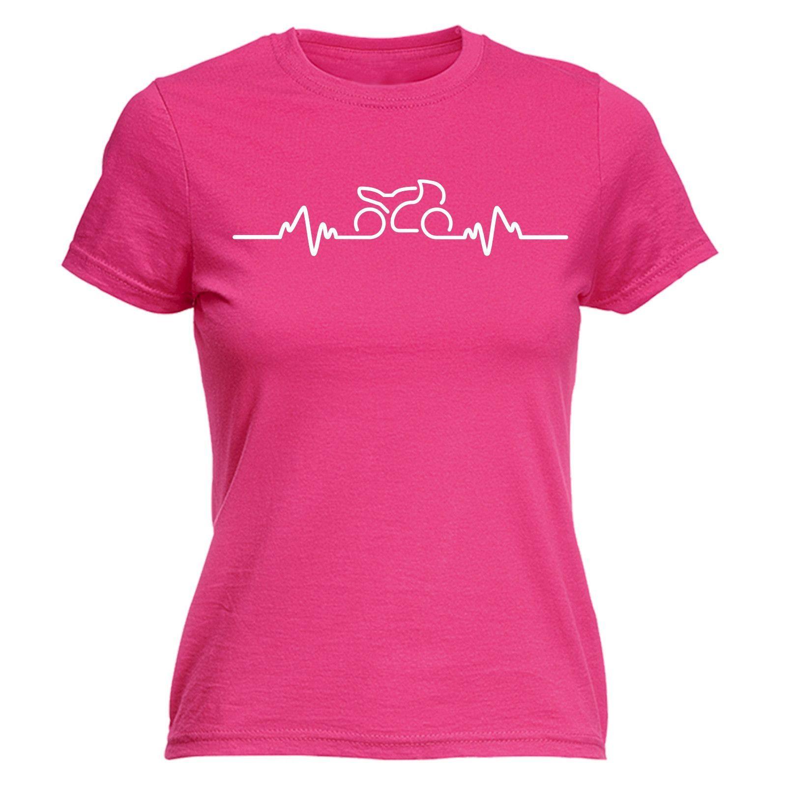 123t Women's Motorbike Pulse Funny T-Shirt – 123t T-Shirts & Hoodies